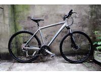 DAWES DISCOVERY SPORT 4, 20 inch, 51 cm, alloy hybrid gents road bike, 24 speed