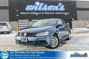 2017 Volkswagen Jetta WOLFSBURG EDITION SUNROOF! HEATED SEATS! R