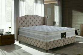BRAND NEW AMAZING PRICE OTTOMAN BED BASE AND MATTRESS (FULL SETTEE)