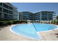 1-bed apartment 78m2 for sale in Sunny Beach, Bulgaria. 350m to beach, complex with pool & garden.