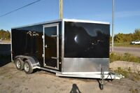 2015 Mission Trailers Aluminum Sled Trailer