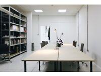 Desk space for rent in creative studio