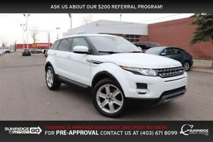 2013 Land Rover Range Rover Evoque Pure, AWD, LEATHER, SUNROOF,