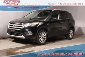 2017 Ford Escape Titanium AWD 4X4 CUIR NAV CAMERA AUDIO SONY