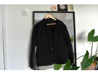 Adidas black Denim Jacket from Line 8