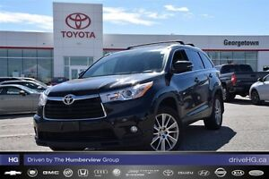 2015 Toyota Highlander One owner XLE with ECP included