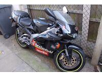 Aprilia rs 125 good condition lots of paperwork
