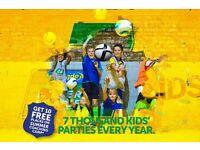 Pro Footballer Kids Party