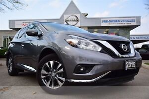 2015 Nissan Murano SV AWD *Navigation,Heated Seats,Rear view mon