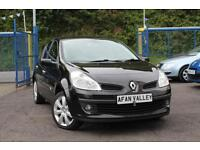 RENAULT CLIO 1.2 TCE Dynamique S **FULL S/HISTORY**HALF LEATHER** (black) 2008