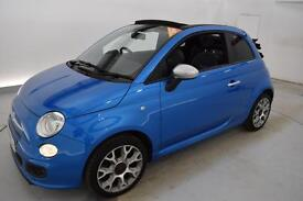 FIAT 500C 1.2 S 2dr (blue) 2014