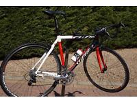 "Amazing Wilier La Triestina Mortirolo Full Carbon Road bike. Size 53"" frame"
