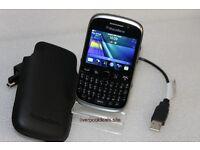 9320 blackberry excellent condition unlocked plus case
