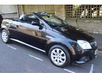 Black Convertible Vauxhall Tigra 2009 Low Mileage, Reduced For Quick Sale!!