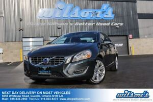 2012 Volvo S60 T5 LEATHER! SUNROOF! BLIND SPOT MONITOR! 360 REAR