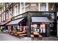 Chefs all levels needed for busy London restaurant.