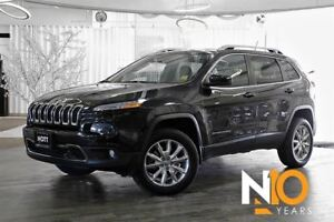 2014 Jeep Cherokee Limited, Navi, Pano Roof, Htd/Cooled Seats, C