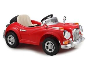 Electric Baby / Kid / Child Ride-On 12V Car with 4 Rubber Air Tires Parent Remote Controller, Mirrors, Seat Belt, Music