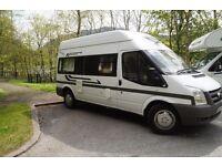 Transit 100 T350L RWD Motor Caravan