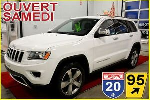 2015 Jeep Grand Cherokee LIMITED  * 4X4 *  CUIR * TOIT
