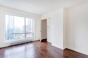 Spacious 1 Bedroom Luxury Apartment in Downtown Montreal