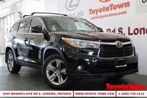 2015 Toyota Highlander LOADED 7 PASSENGER LIMITED LEATHER & NAVI