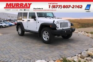 2017 Jeep WRANGLER UNLIMITED SPORT *Bluetooth, Cruise Control, C