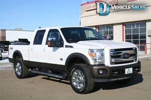2016 Ford F-350 KING RANCH, DIESEL, HOT AND COOLED SEATS LEATHER