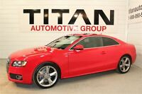 2012 Audi A5 Premium| S-line| Auto| Leather| Quattro| Red