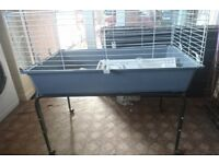 Ferplast Rabbit/Guinea Pig cage with stand