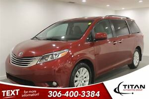 2015 Toyota Sienna XLE|7 Pass|AWD|Nav|Sunroof|Leather