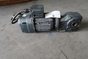 SEW-EURODRIVE 2 Hp Motor With Gear Reducer