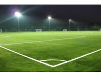 Looking for players for 6 aside for Wednesday night football