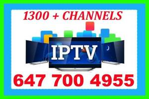 IPTV SERVICE # 1 IN KIJIJI, LIVE CHANNELS 1300 + NO FREEZING HD CHANNELS