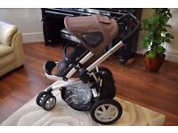 *** Quinny Buzz Playground Brown complete travel system *** Excellent Condition