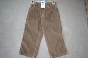 BRAND NEW - OLD NAVY CORDUROY PANTS - SIZE 3