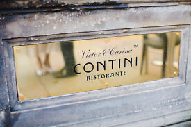 Charismatic Bartender required for Contini Ristorante on George Street £6.95/£7.20 p/h plus tips