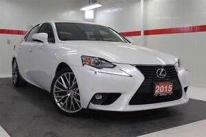 2015 Lexus IS 250 AWD Heated Ventilated Lthr Nav Sunroof Btooth