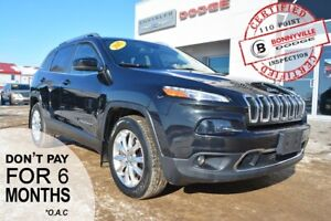 2015 Jeep Cherokee- LEATHER, KEYLESS ENTRY