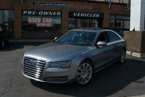 2013 Audi A8 3.0T (Tiptronic)/LEATHER/SUNROOF/NAVIGATION