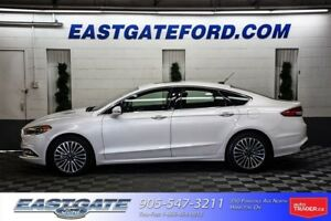 2017 Ford Fusion SE AWD LEATHER MOONROOF NAV