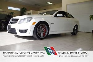2013 Mercedes-Benz C-Class C 63 AMG PERFORMANCE PACKAGE LOADED