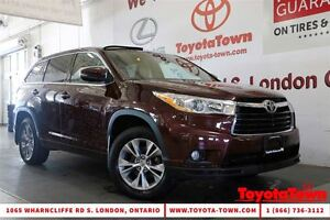 2015 Toyota Highlander SINGLE OWNER LE CONVENIENCE & LEATHER PAC