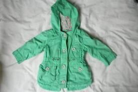 Next Baby Girl Jacket, 3-6 months