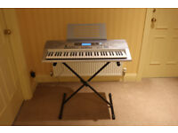 Casio CTK-691 Electric Keyboard and stand in excellent condition.