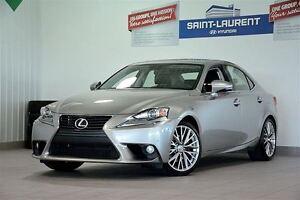 2014 Lexus IS 250 AWD, CUIR, TOIT OUVRANT, GPS, CAM RECUL