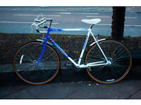 "Emmelle Road bike, Vintage, 22"" Frame, 10 gears, Excellent condition, Mudguards,"