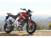 *MOTORCYCLE* 66 Plate Rieju RS3 125 LC. Warranty. Free Delviery. Main Dealer 22-11