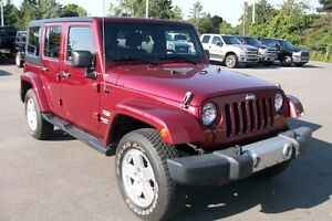 2012 Jeep WRANGLER UNLIMITED Sahara 6-speed MINT