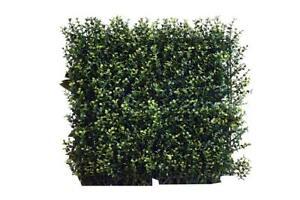 NEW Greensmart Décor Artificial Decorative Ficus Spring Wall Panels, Set of 4